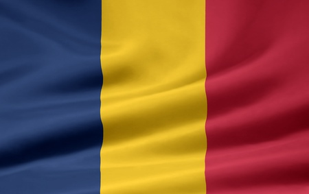chadian: Flag of Chad
