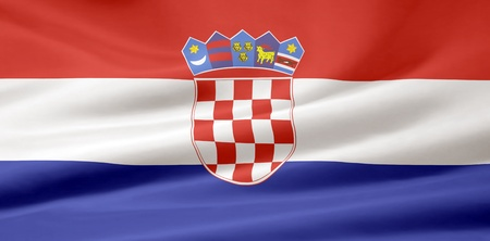 Flag of Croatia photo