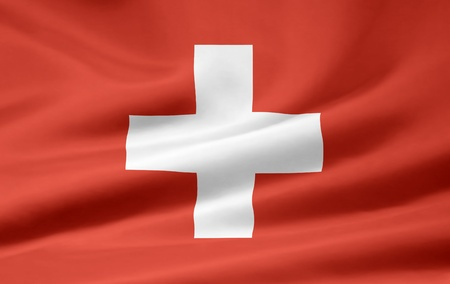 Flag of Switzerland Stock Photo - 9170703