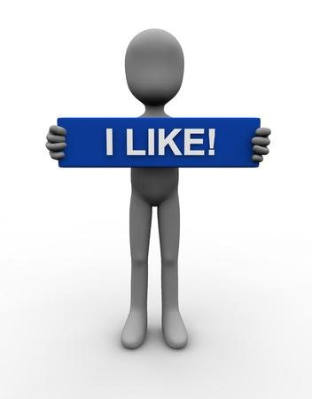 i like: I like - english
