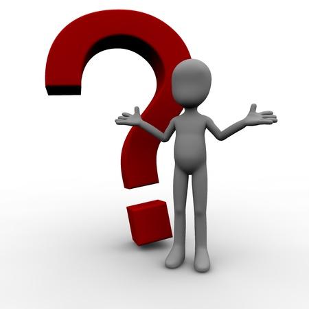 interrogativa: Figura con Questionmark