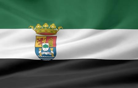 extremadura: Flag of Extremadura - Spain