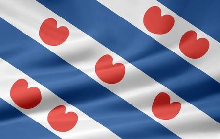 Flag of Friesland - Netherlands