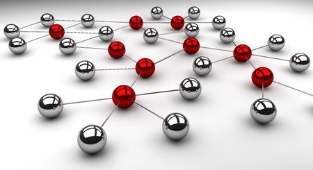 network marketing: Red social