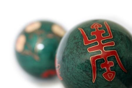 Chinese health balls Stock Photo - 10064099