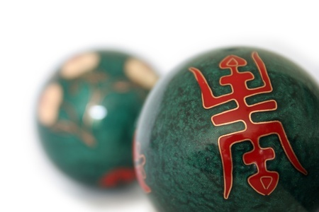 sound healing: Chinese health balls