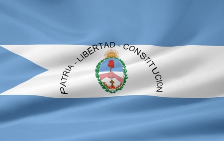 Flag of Corrientes - Argentina photo