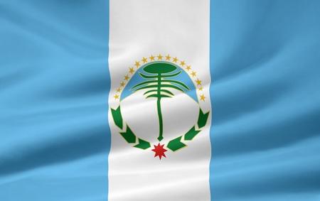 Flag of Neuquen - Argentina photo