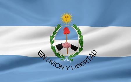 Flag of San Juan - Argentina photo