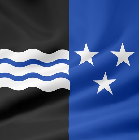 Flag of Canton Aargau - Switzerland photo