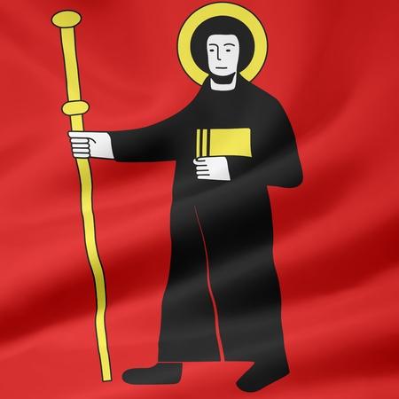glarus: Flag of Canton Glarus - Switzerland