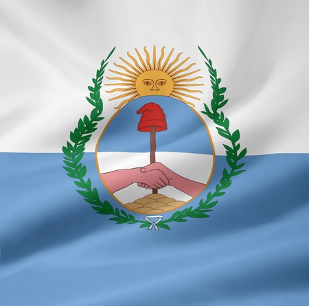 argentinean: Flag of the province Mendoza - Argentina