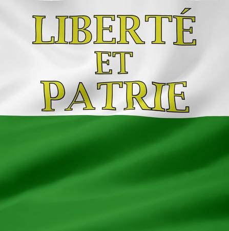Flag of Canton Vaud - Switzerland