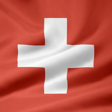 Flag of Switzerland - official format Stock Photo - 10259449