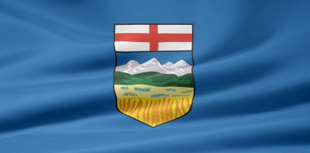 Flag of Alberta - Canada Фото со стока - 10260874