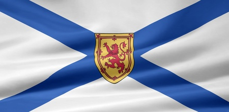 Flag of Nova Scotia - Canada photo