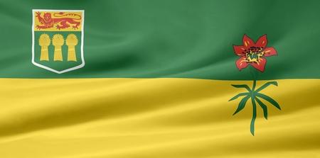 Flag of Saskatchewan - Canada Stock Photo - 10260873