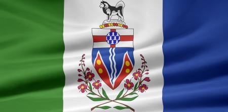 whitehorse: Flag of Yukon - Canada