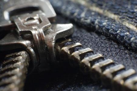 Closeup of a jeans zipper Imagens - 10376518