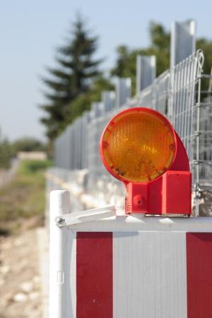 gabion: Construction Barrier for gabion wall
