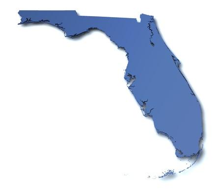 florida: Map of Florida - USA