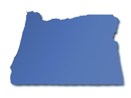 oregon: Map of Oregon - USA