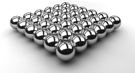 Chrome Ball Array