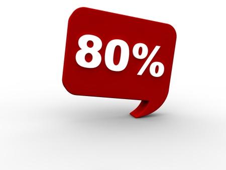 onlineshop: 80 percent rebate