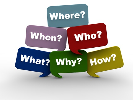 Questions Stock Photo - 17137696