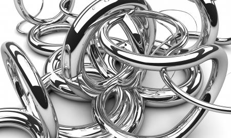 chrom: Background made of chrom swirls