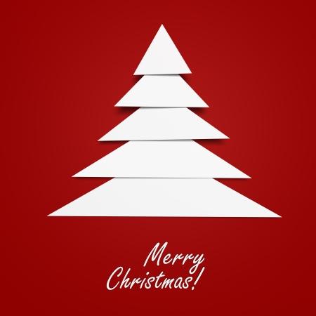 Abstract Christmas Tree Фото со стока
