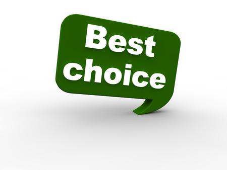 top seller: Best Choice