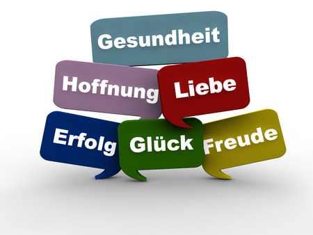 good wishes: Good Wishes in German