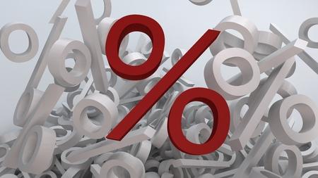 Falling percents