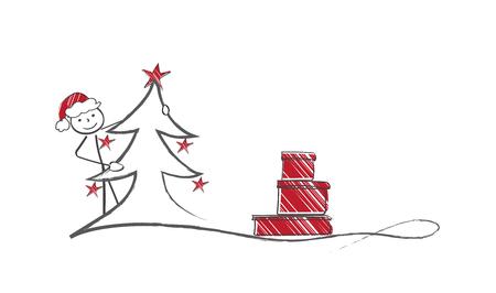 gift season: Hiding Santa