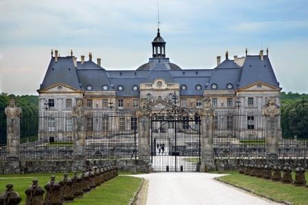 vaux: Castle Vaux le Vicomte, France  Editorial