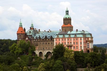dolnoslaskie: Castle Ksiaz in Walbrzych, in Poland  Editorial