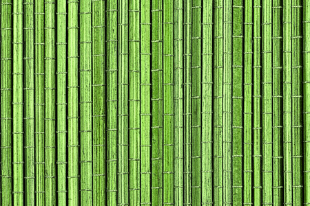 Green bamboo mat, a background or texture