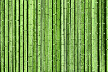 Groene bamboe mat, een achtergrond of textuur