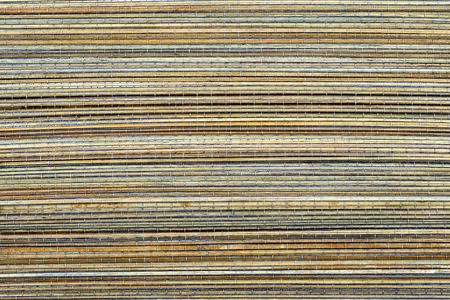 Bamboo mat, a background or texture photo