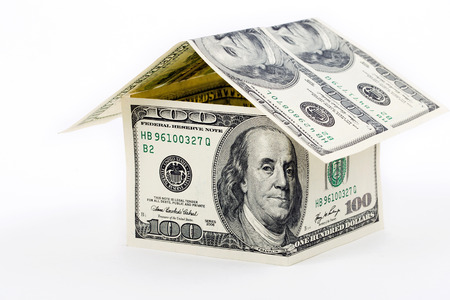 House built with American money photo