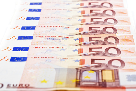 european money: European money, a background Stock Photo