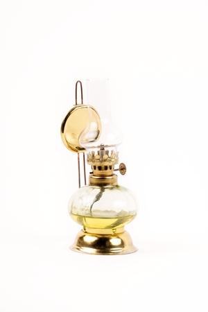 oil lamp: Old oil lamp