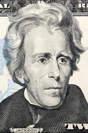 jackson: Portrait of Andrew Jackson on twenty dollars