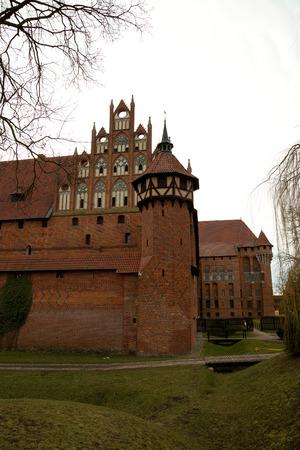 poland: Castle in Malbork, Poland