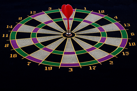 Shield and dart