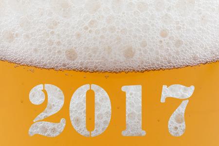 Gelukkig Nieuwjaar 2017 Stockfoto