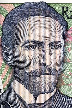 Stanislaw Wyspianski portrait from old ten thousand zloty