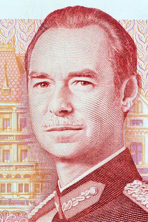 Jean, Grand Duke of Luxembourg portrait from money