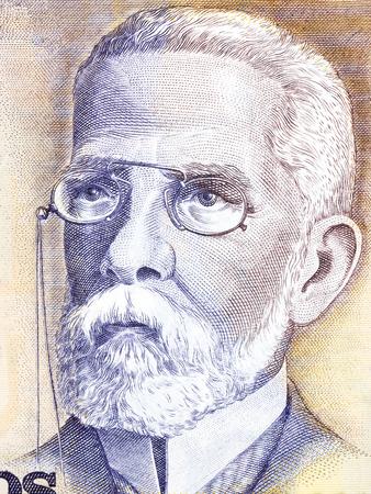 Machado de Assis portrait from Brazilian money